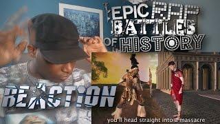 Shaka Zulu vs Julius Caesar. Epic Rap Battles of History Season 4. - REACTION!