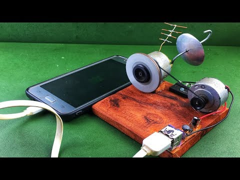 Wireless free Energy 100% Mobile Charging Electric Generator using DC Motor New Technology 2018