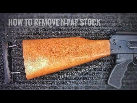 Zastava M70 NPAP & OPAP: Stock Removal