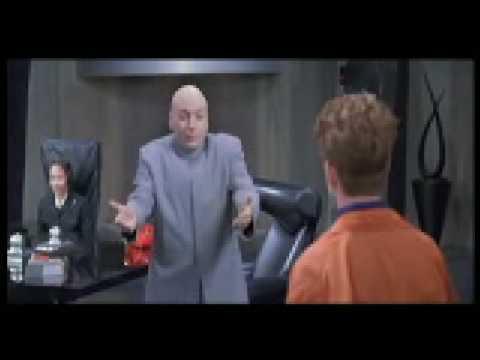 """Dr. Evil being """"hip"""""""