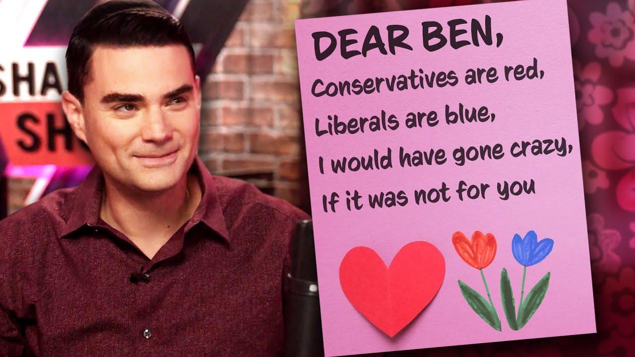 Ben Shapiro Writes Valentine's Day Cards!