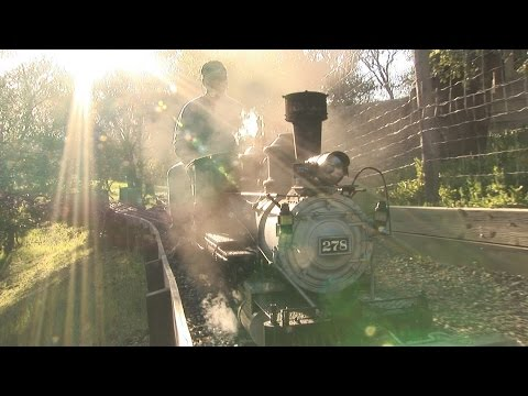 The Flintridge & Portola Valley Railroad: narrow gauge live steam - full program (HD)