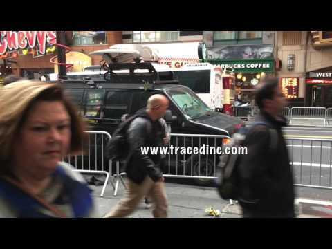 Crazy Guy Torments Good Day New York Fox News Crew Anna Gilligan Outside AMC Theater NYC