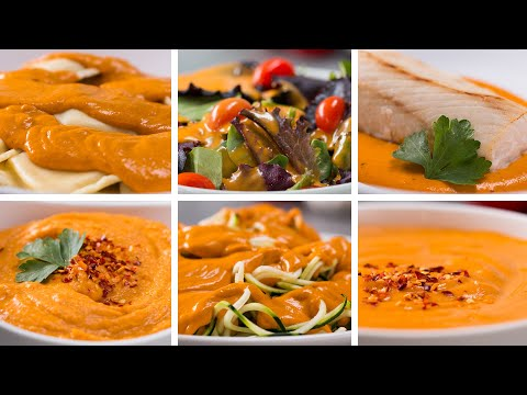 6 Ways To Use Creamy Roasted Red Pepper Sauce