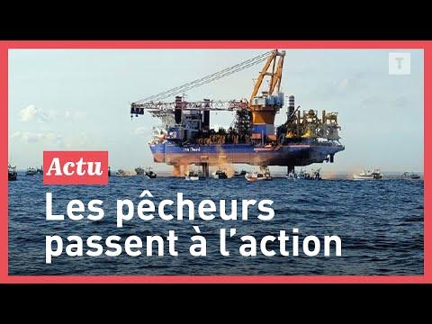 Eoliennes en mer : les pêcheurs bretons encerclent le chantier