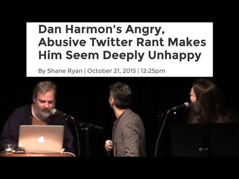 Dan Harmon reads a mean article about Dan Harmon