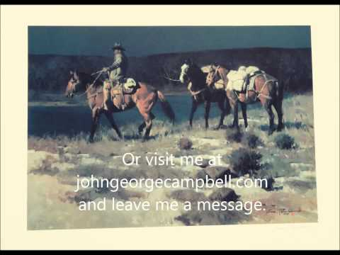 Crossing the Verde by Cowboy Artist James Reynolds set to Remington, Russell, and All