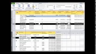 Управление ресурсами в Microsoft Project  Ставки ресурсов   часть 1