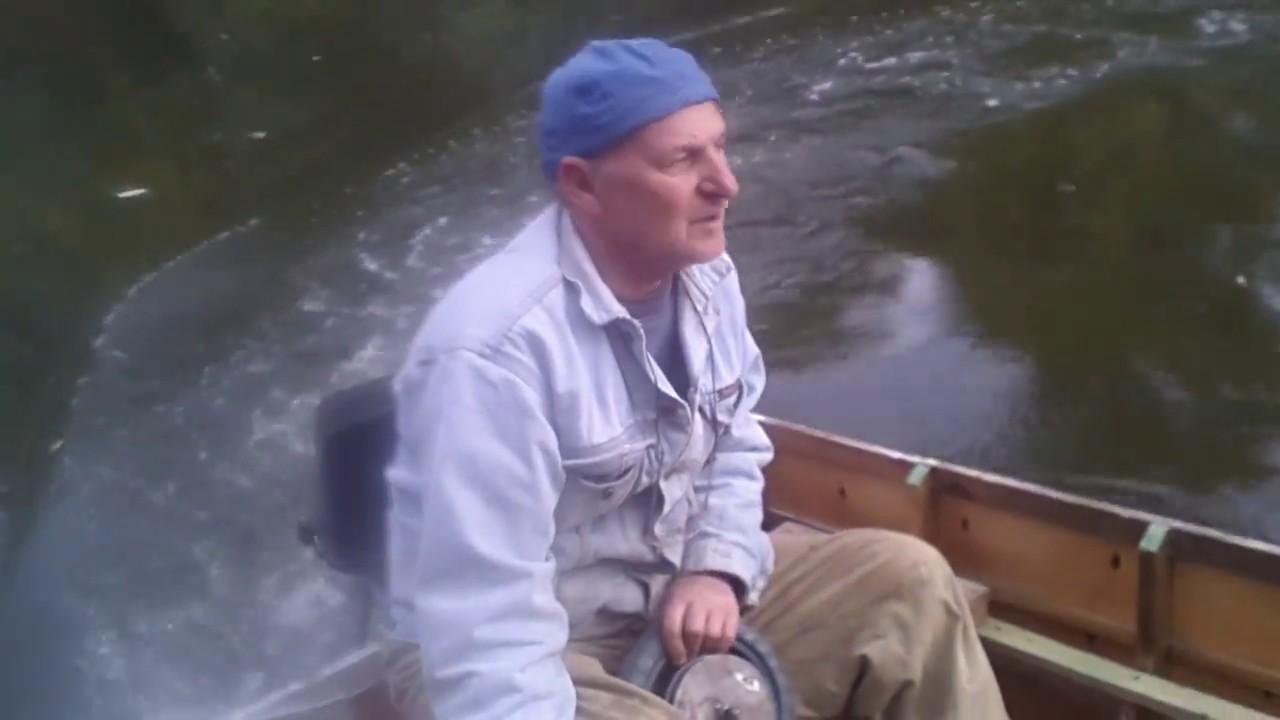 Самодельная лодка джонбот из пвх после лета