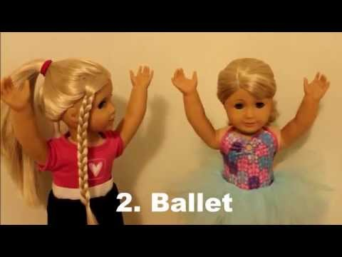 10 Ways To Dance! ~ Series with United Dolls!  SummerStudiosAG