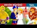 DEVİN BÜYÜSÜ | The Giant's Spell Story in Turkish | Masal dinle | Türkçe peri masallar