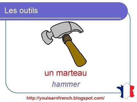 1000 mots en français : Apprendre le nom des outils de jardinage ...