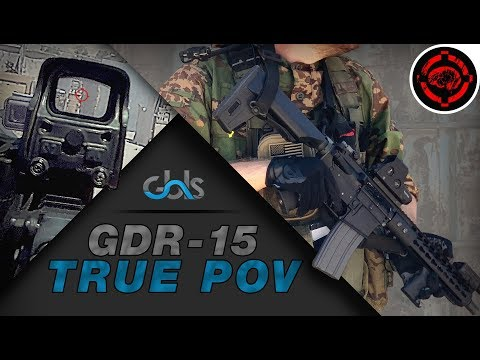 Airsoft POV Gameplay: Most Realistic AEG (GBLS GDR-15)
