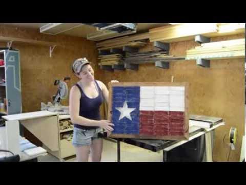 Texas Flag And Table Saw Maintenance Youtube