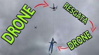DRONE resgata DRONE perdido wanzam fpv