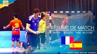 Résumé de match   France - Espagne   29.10.2016
