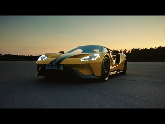 The new 2019 Ford GT Supercar. Performance is everything you need