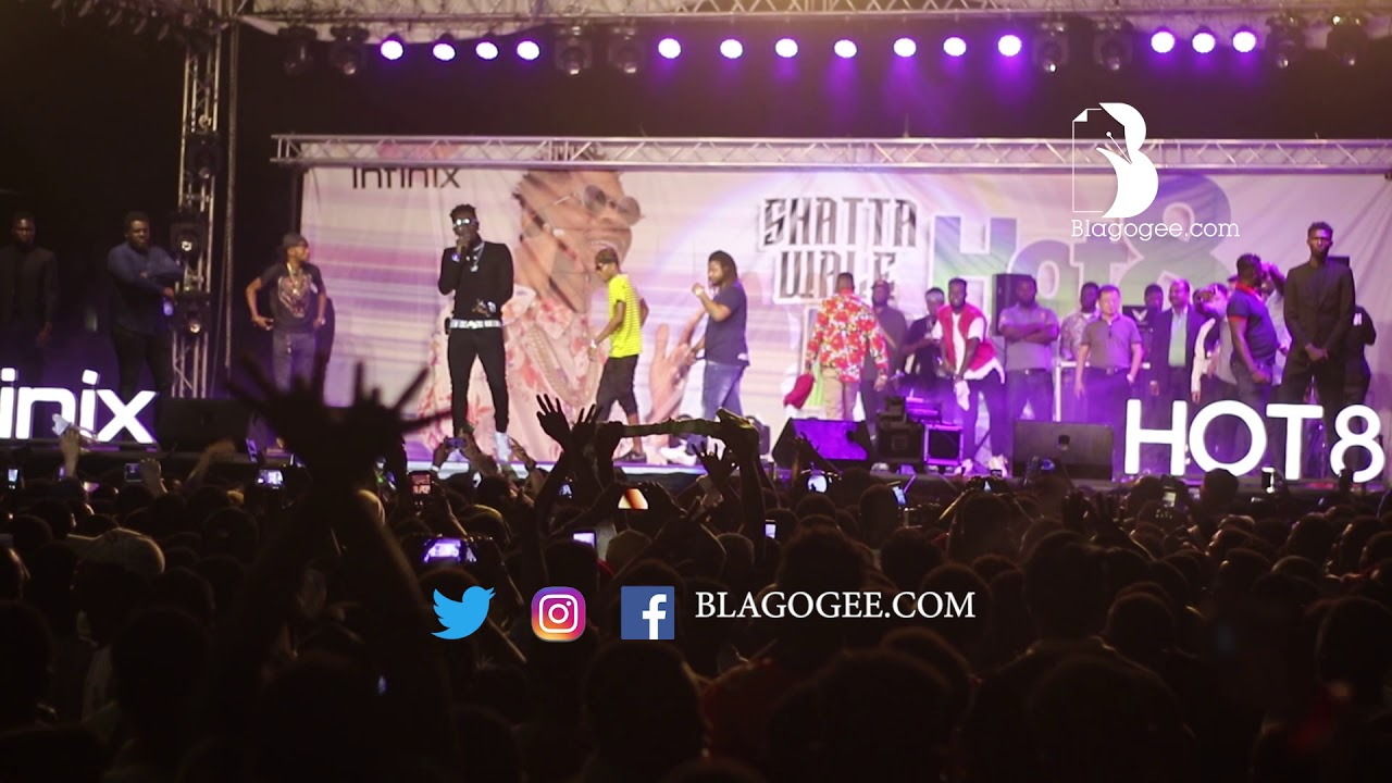 Shatta  Wale & SM Militant Energetic Performance At 2019 Infinix Invasion Concert