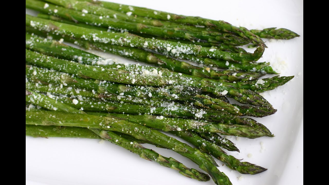 Easy Oven Roasted Asparagus Recipe  Healthy Side Dish By Rockin Robin   Youtube