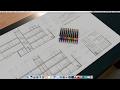 13.- Calidades de Línea escalas 1:50, 1:25 hasta 1:1, archivos de impresión AutoCad Mac.