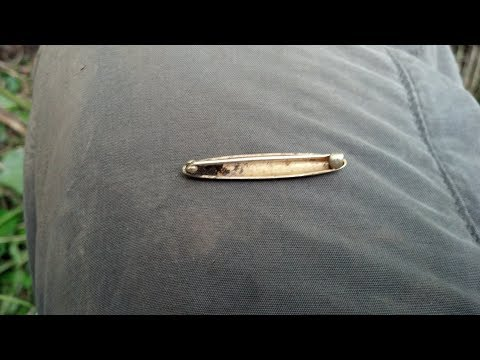 GOLD and SILVER - Checking out a new spot turns up gold and silver x3 - Metal detecting vid #64