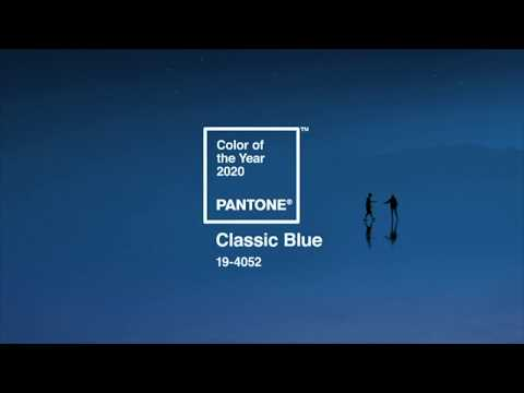 PANTONE 19-4052 Classic Blue, the Pantone Color of the Year 2020