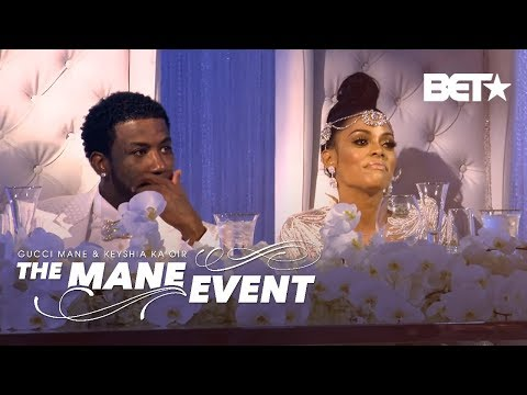 Check Out All The Stars That Attended Gucci and Keyshia's Reception | The Mane Event