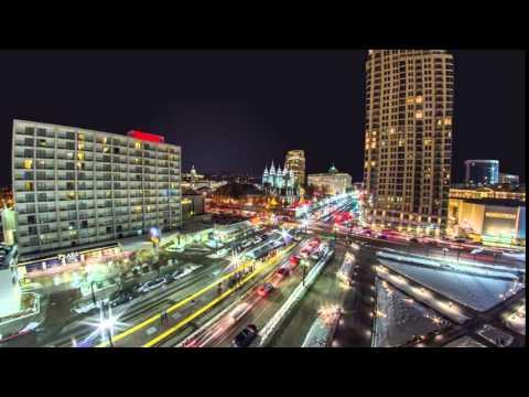 Downtown Salt Lake City, City Timelapse