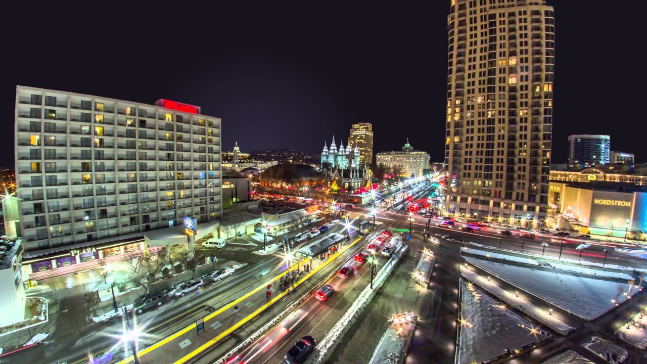 Downtown Salt Lake City City Timelapse YouTube - Local time in salt lake city