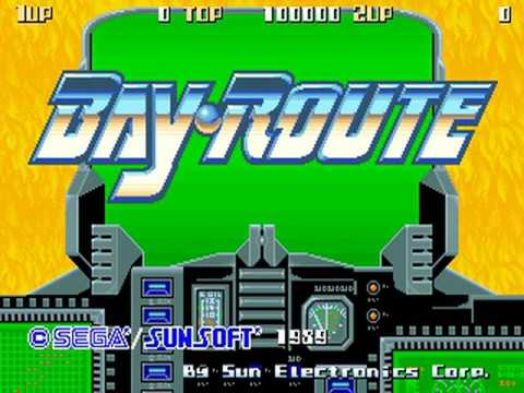 Bay Route (Sunsoft 1989)  Attract Mode 60fps