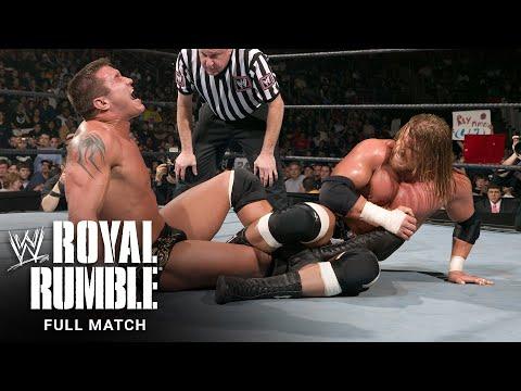 FULL MATCH - Triple H vs. Randy Orton - World Heavyweight Championship Match: Royal Rumble 2005