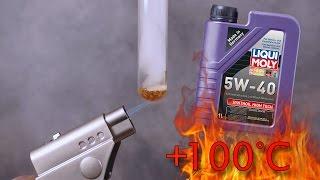Liqui Moly Synthoil High Tech 5W40 Jak czysty jest olej silnikowy? Test powyżej 100°C