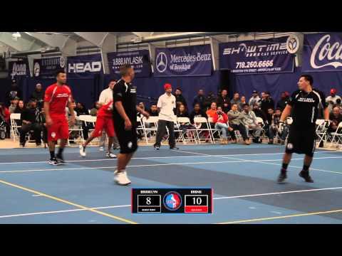 Wall Ball Pro Tournament - Chris & Play (Brooklyn) vs James & Pito (Bronx)