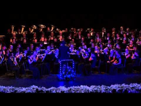 Stille Nacht, Mohr, Gruber/Davis, Vinson - Troy Concert Band, 12/3/15