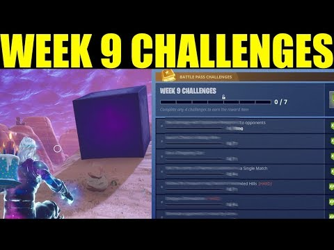 Fortnite Season  Week  Challenges! Guide ALL Week  Challenges Easy!