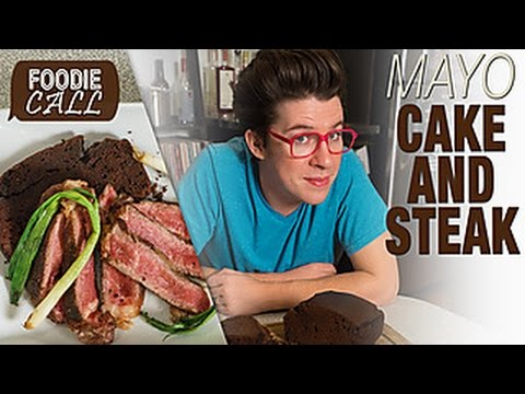 Foodie Call: Steak and Cake with Black Garlic Mayo