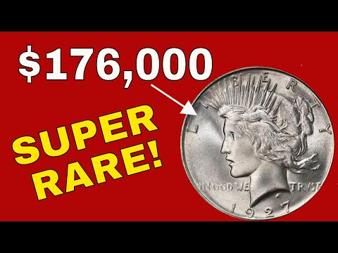 Super Rare Silver Dollar Coins Worth Money! Valuable 1927D Peace Dollar Coins To Look For!