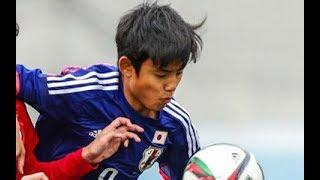 サッカー日本代表久保建英の才能が爆発した試合 スーパープレイ集【fb】
