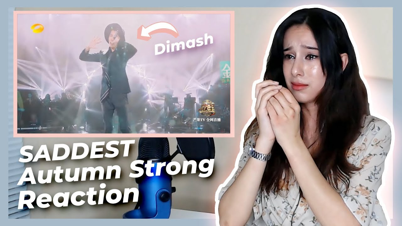 American Girl Reacts to Dimash Kudaibergen - Autumn Strong