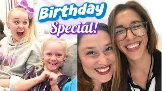 Super-Sized Birthday Special! - Jessica & Rachel Ballinger, Birthday Sisters Forever