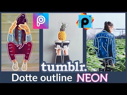 Hacer fotos Tumblr, Efectos de Neón en tus fotos, PicsArt Tutorial