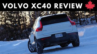 2019 Volvo XC40 Winter Review (Northern Ontario)
