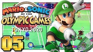 Mario & Sonic at the Olympic Games Tokyo 2020 - I'm Swinging! - Badminton