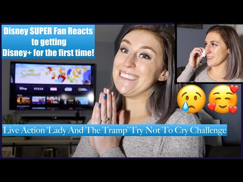 disney-super-fan-reacts-to-disney+-&-live-action-'lady-and-the-tramp'-try-not-to-cry-challenge-🥰🏰