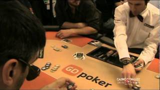 Claudio Santamaria al Casino de la Vallée | Saint-Vincent in All-in