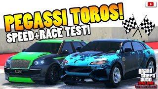 🧐🏁Zieht Er Sie Alle? SUV TOROS Speed + Race Test!🧐🏁[GTA 5 Online Arena War Update DLC]