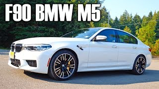 F90 BMW M5 - more speed, more toys, less feels