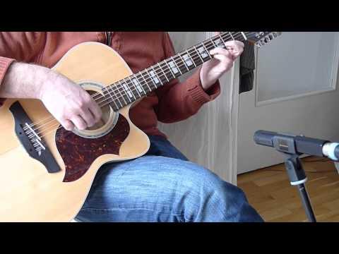New 12 String Acoustic Guitar Solo   original composition  Takamine EG523SC12  Fingerstyle