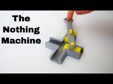 The Machine That Does Nothing Actually Does Something