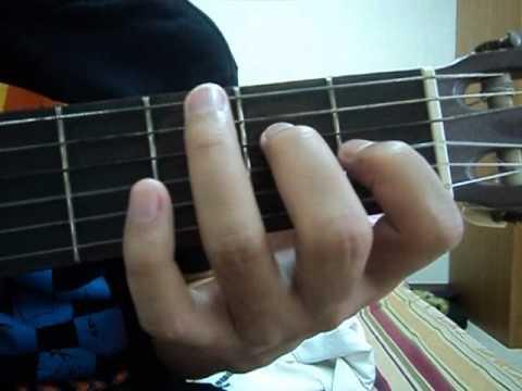 คอร์ด C#7:Chord C#7
